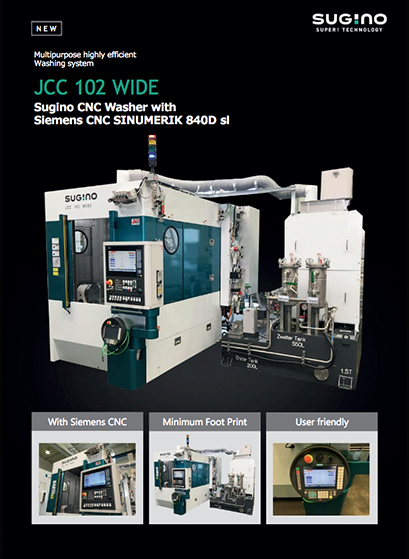 Sugino JCC 102 Wide CNC Washer
