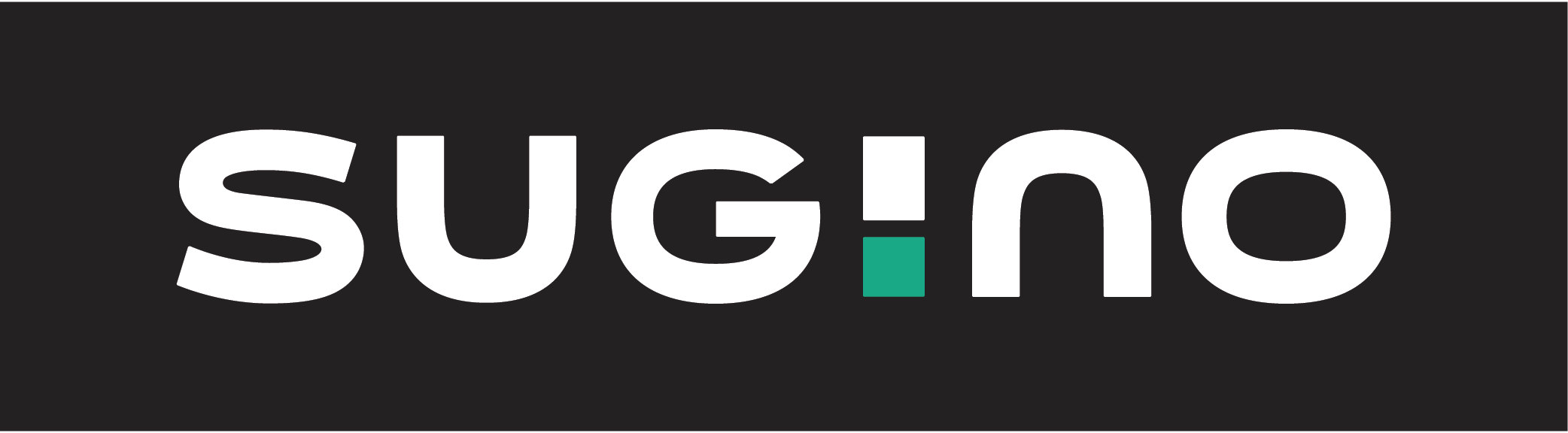 Sugino Logo on Dark Background