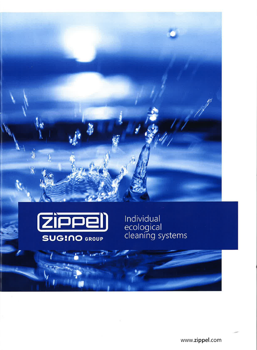 Zippel and Sugino Full Product Line Cleaning Systems